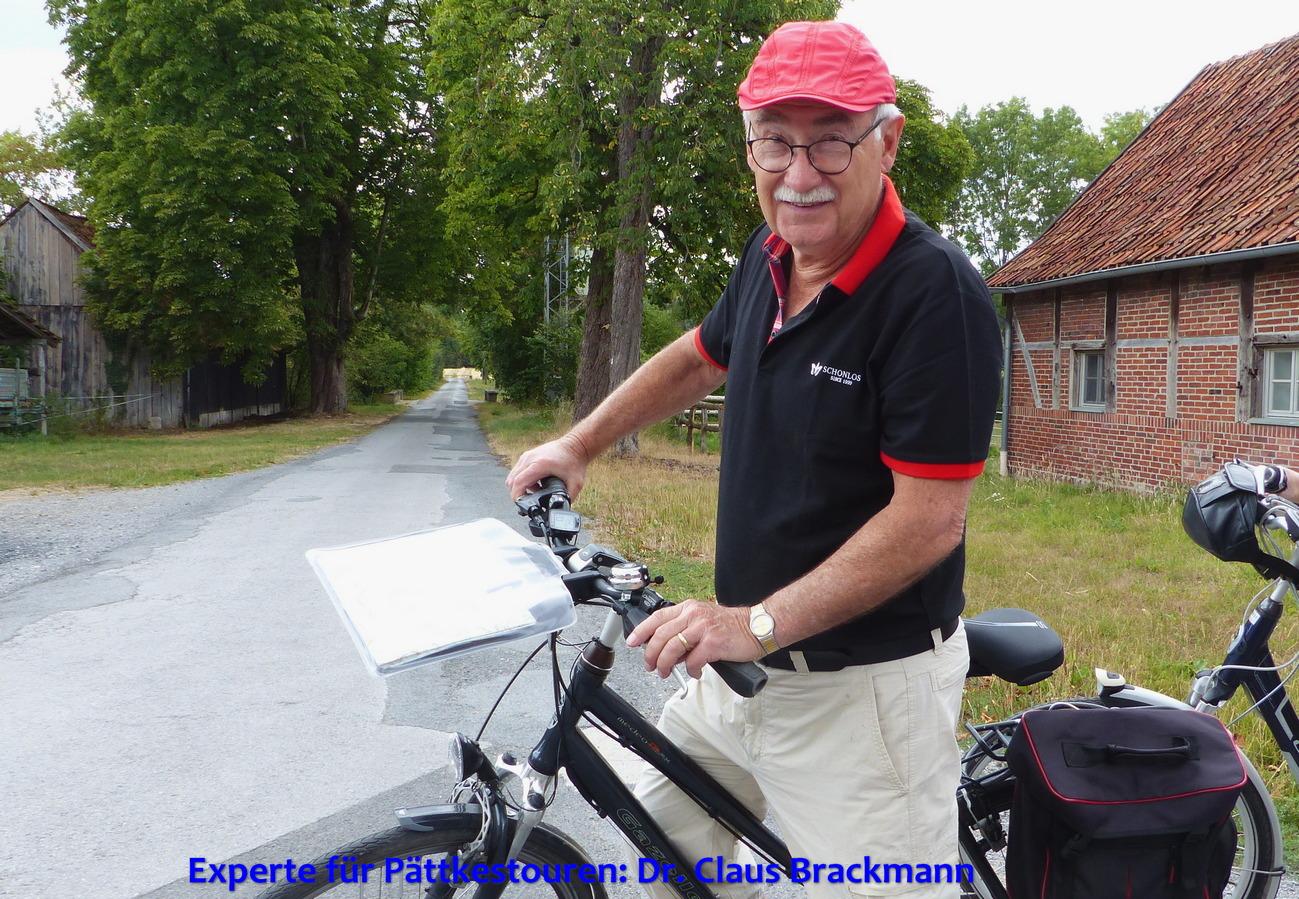Experte für Pättkestouren: Dr. Claus Brackmann