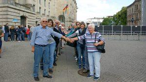 Foto am Reichstag